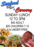 THE GROVE SUNDAY SEAFOOD BUFFET AND CARVEY – **Promotion**