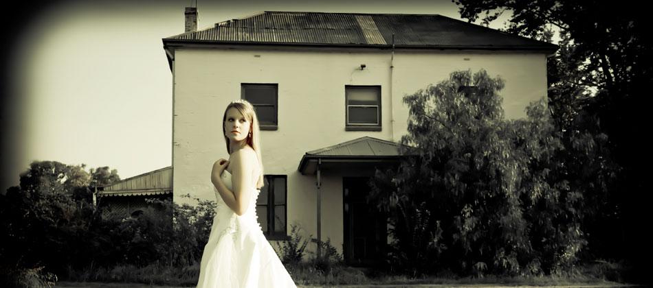 Bride at Homestead